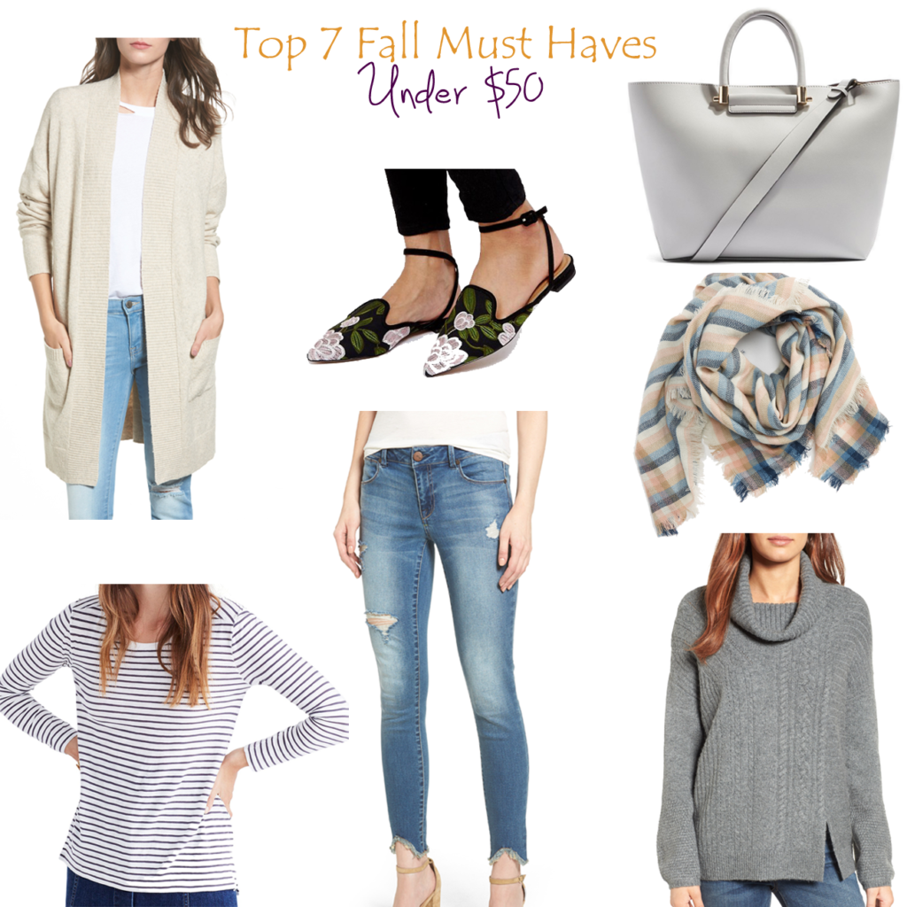 Top 7 Things That You Need for Fall Under $50