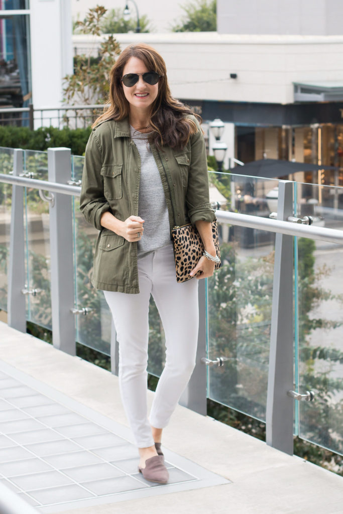 The Perfect Military Jacket + Shopbop Sale