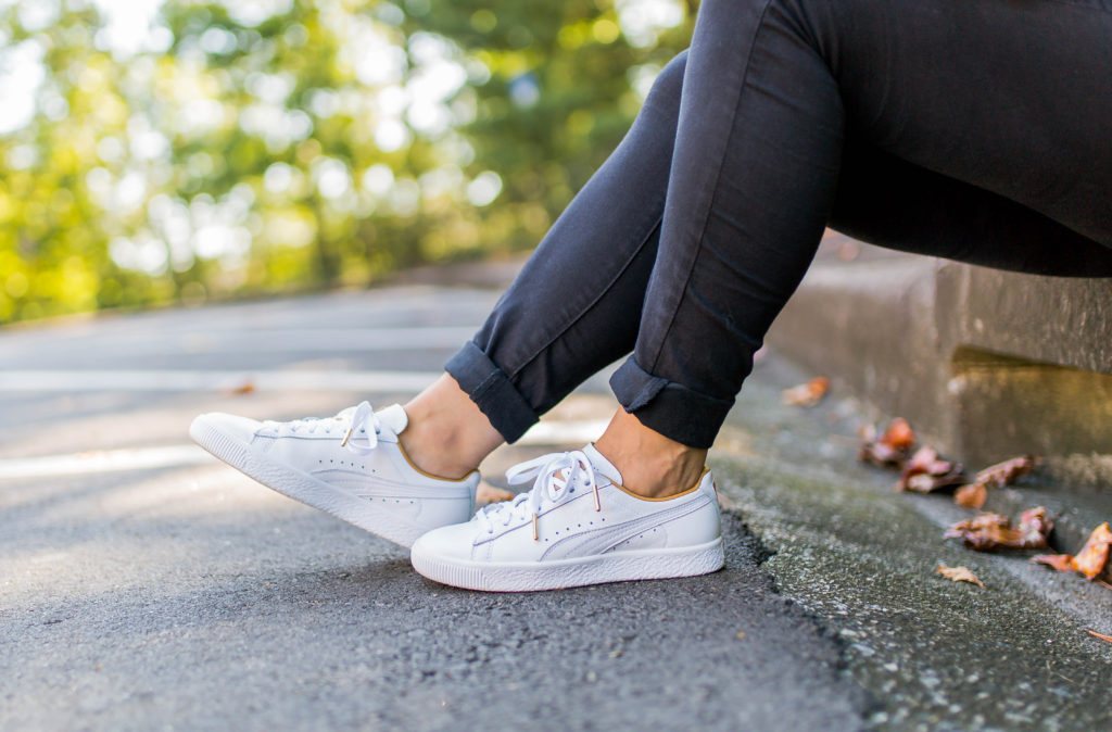 Puma Sneakers that are perfect for creating a cool and casual outfit.
