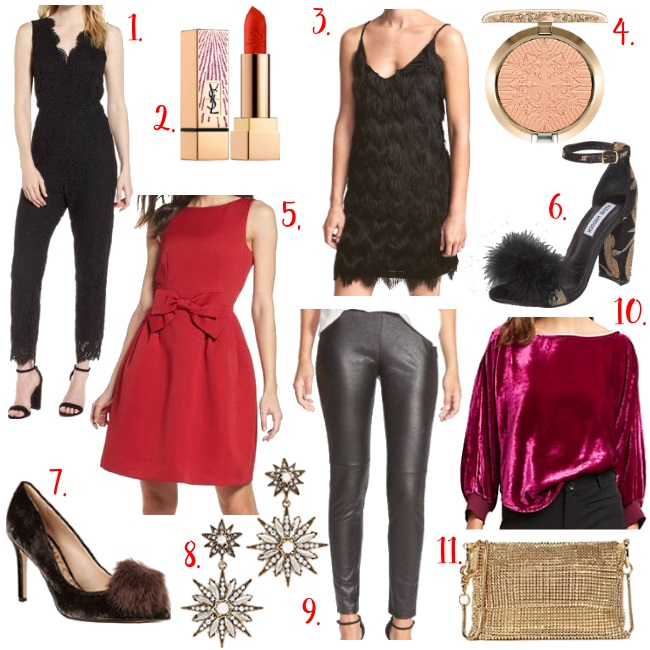 What to wear to a holiday party this season via Peaches In A Pod blog.
