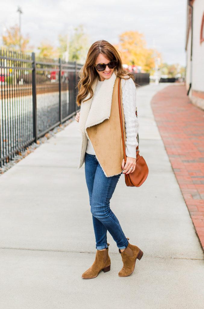 Casual winter style via Peaches In APod blog.