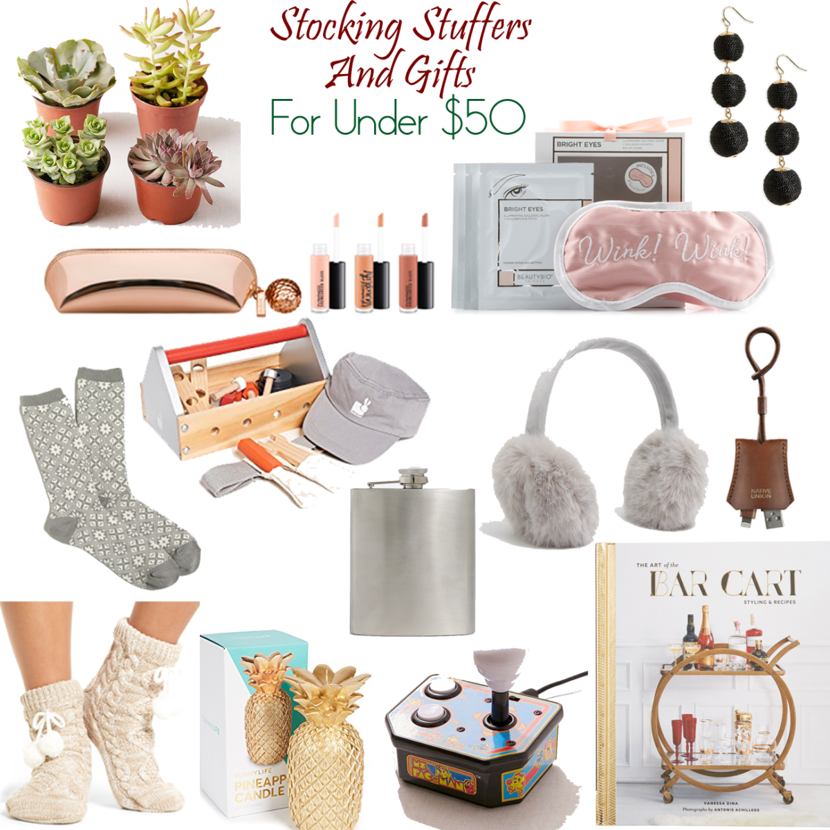 Holiday Gifts for Under $50 and Great Stocking Stuffers