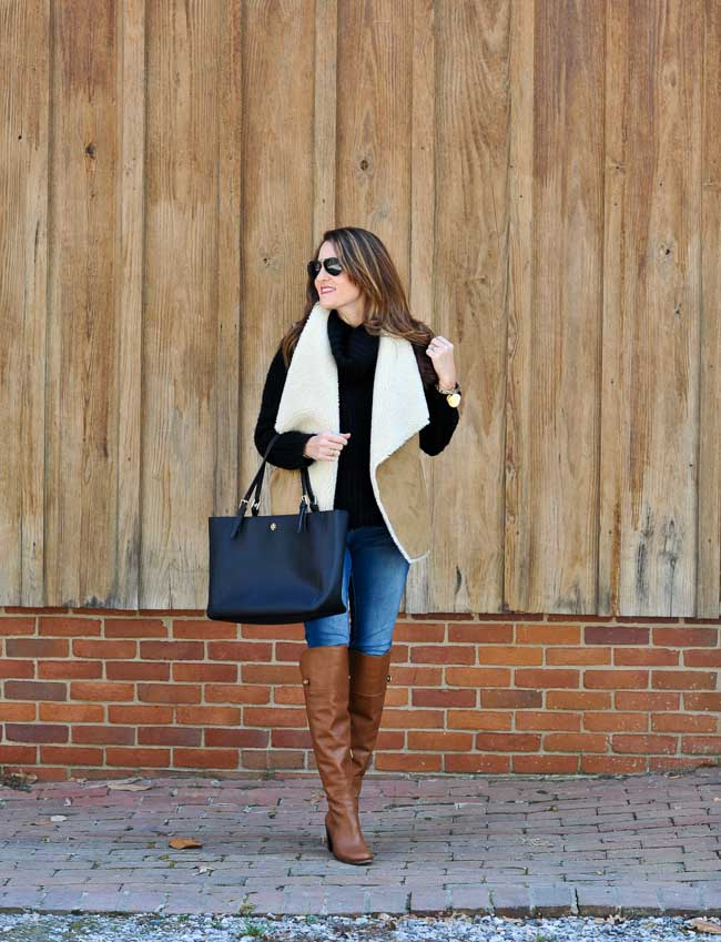 the perfect over the knee boots outfit