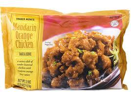 Trader Joe's Madarin Orange Chicken