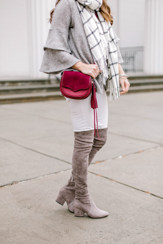 Rebecca Minkoff mini suki crossbody bag via Peaches In A Pod blog.