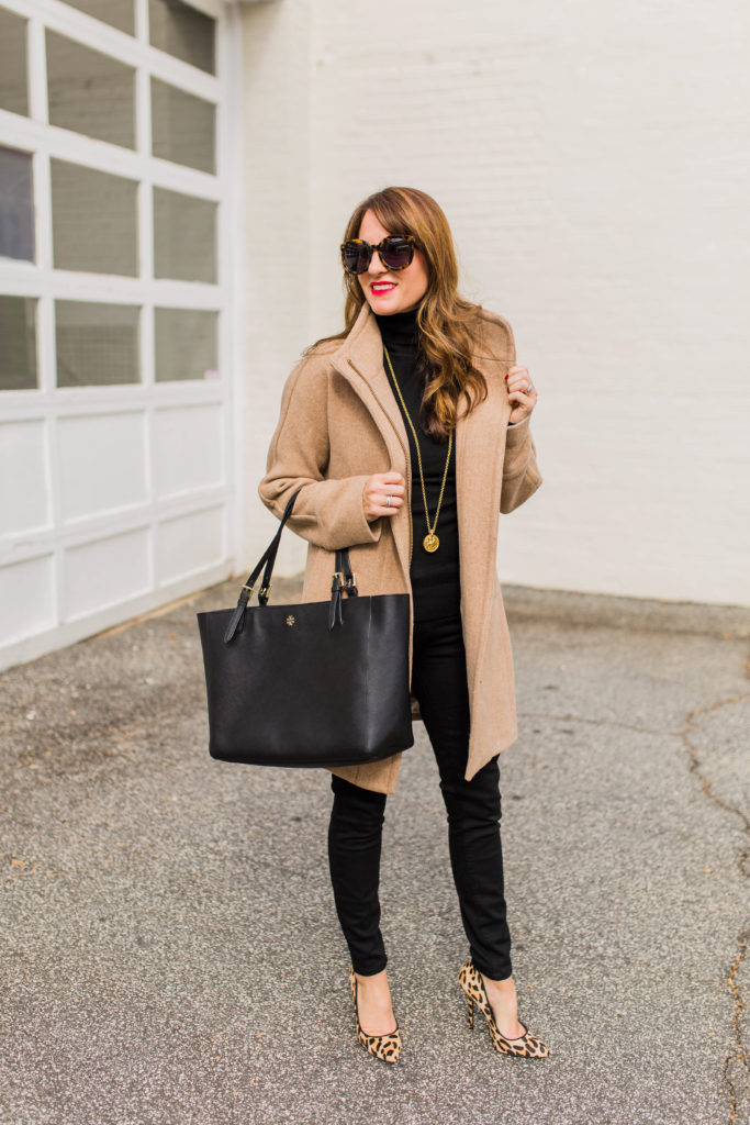 The one coat every woman needs in her closet via Peaches In A Pod blog.