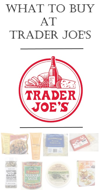 What to Buy at Trader Joe's via Peaches In A Pod blog. Start your healthy New Year with these favorite products.