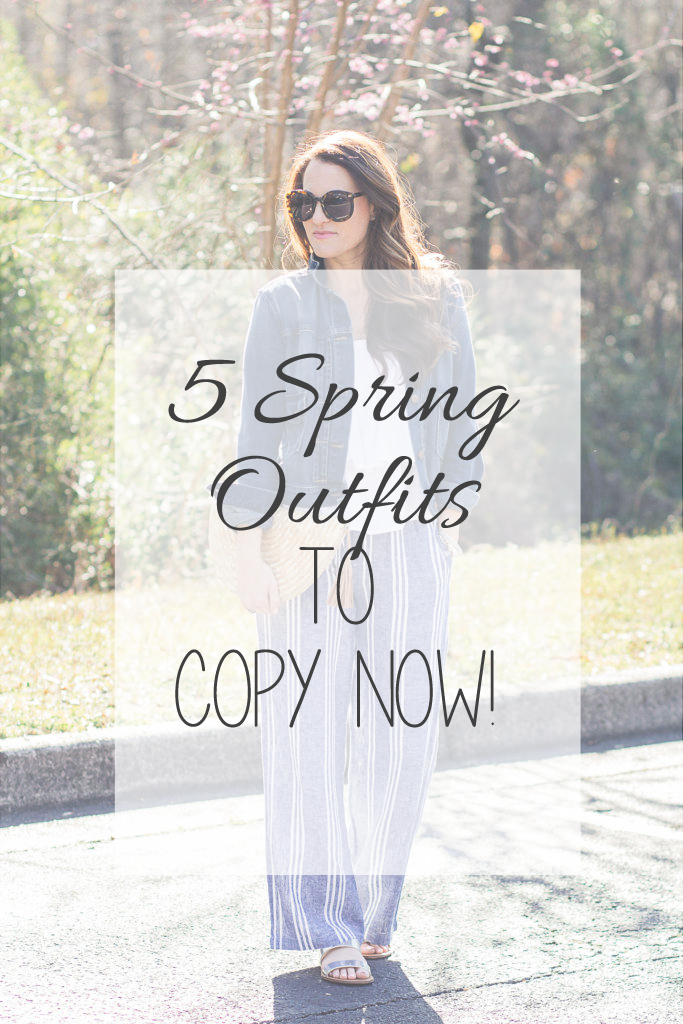 5 Spring Outfits to Copy Now!