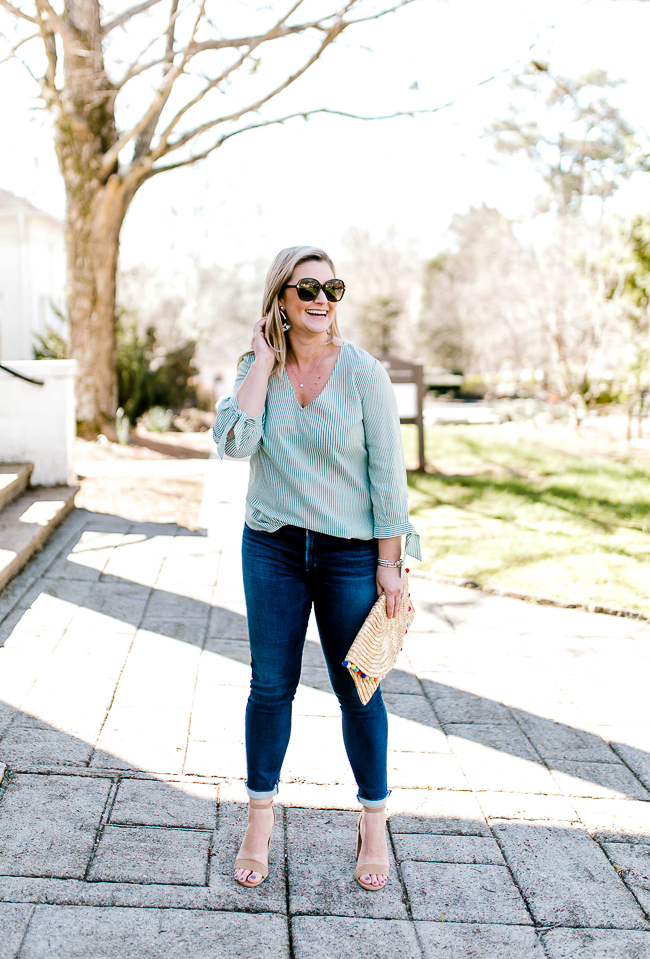 What to wear on St. Patrick's Day - green top