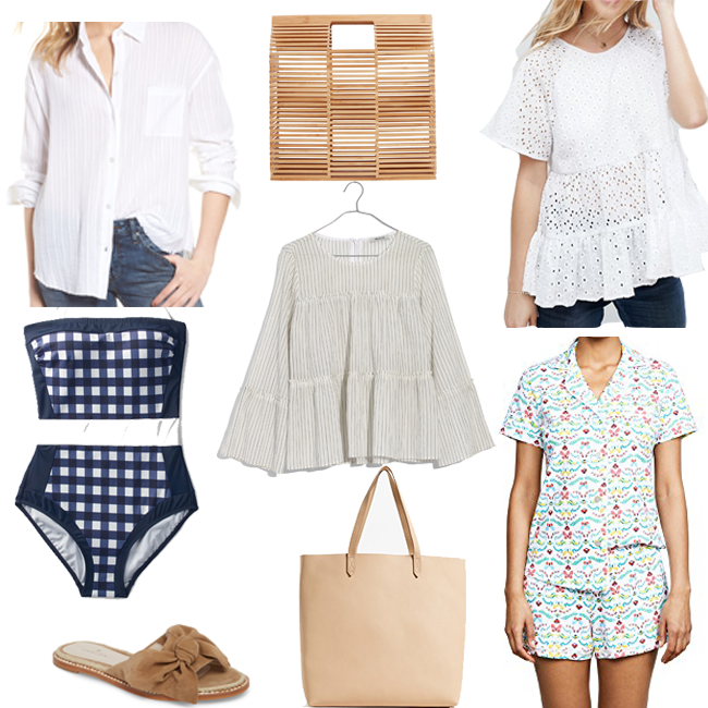 The perfect pieces to for both Spring and summer - White Button Down Shirt