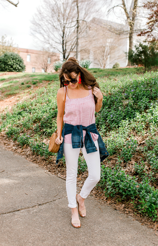 What to wear this Spring via Peaches In A Pod blog.