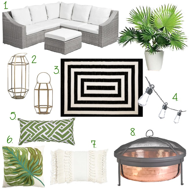 Currently Loving today on the blog: Outdoor decor for your home. We are talking all things outdoors and how to make that space a welcoming for the season ahead.