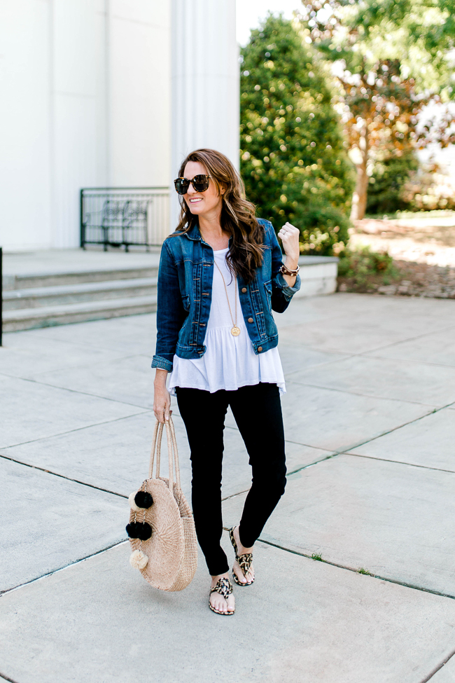 Women's Spring fashion ideas via Peaches In A Pod blog.