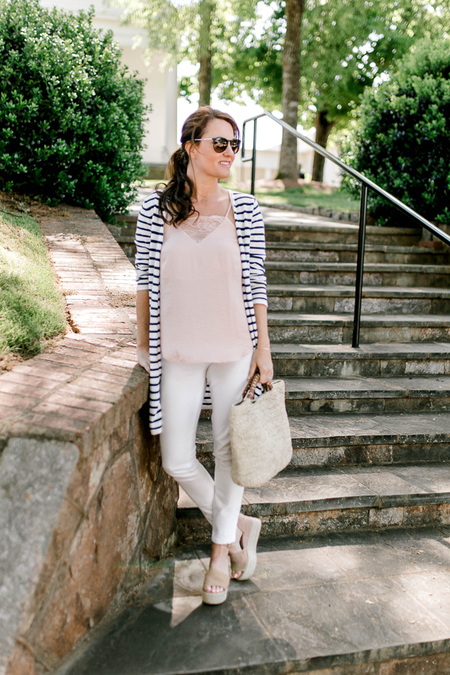 My favorite White Denim for Spring and Summer